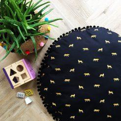 Baby Cushion, Newborn Gift, New Baby Gift, Round Floor Cushion, Baby Shower Gift, Kids Floor Cushion, Baby Play Cushion, Kids Room Decor